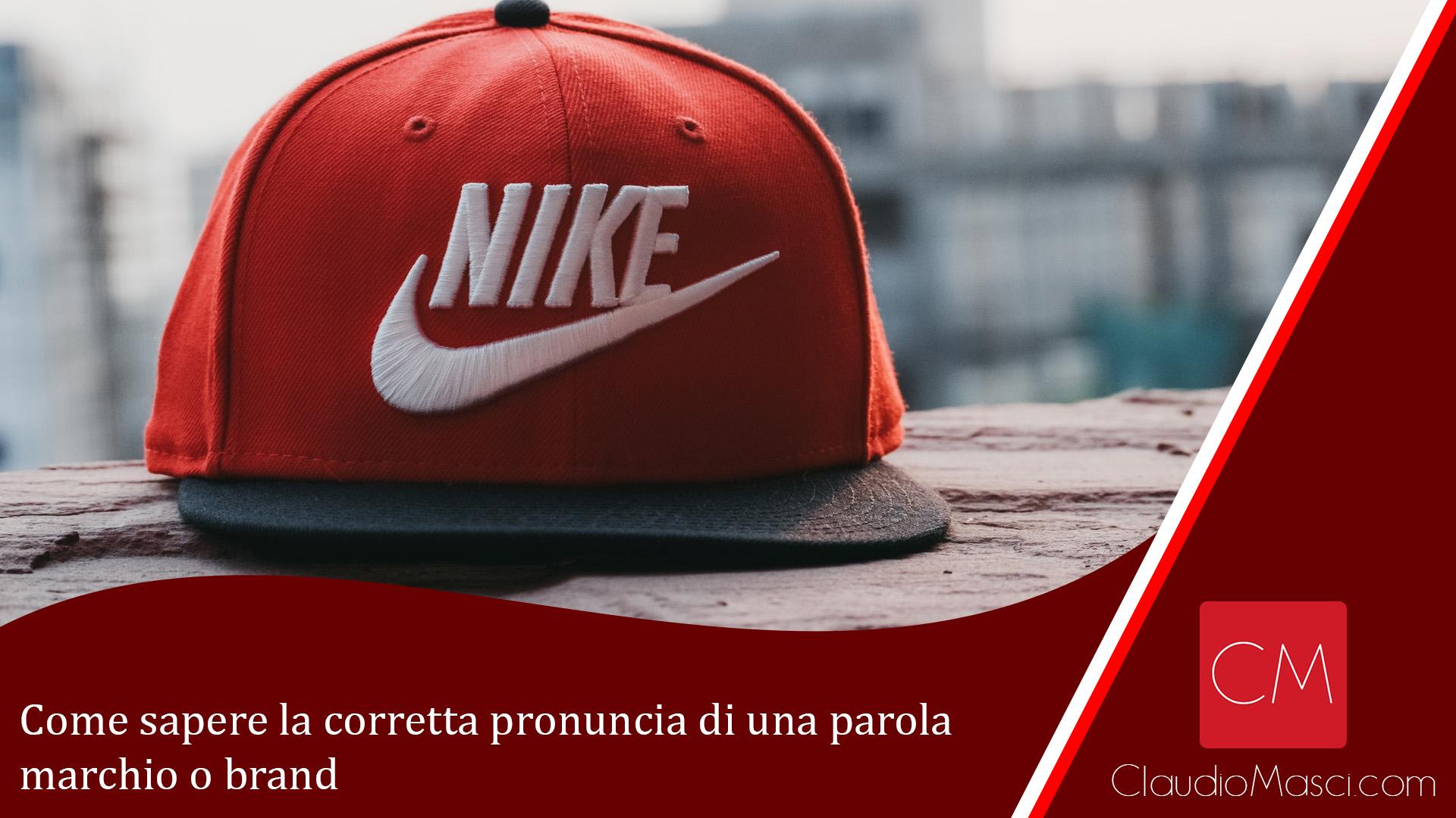Come sapere la corretta pronuncia di una parola marchio o brand
