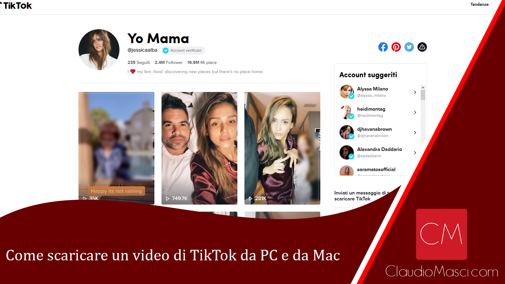 Come scaricare un video di TikTok da PC e da Mac