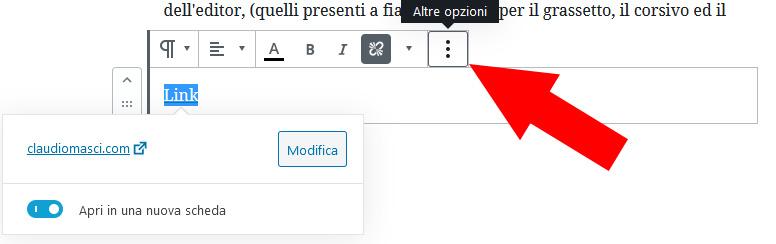 WordPress - Altre opzioni