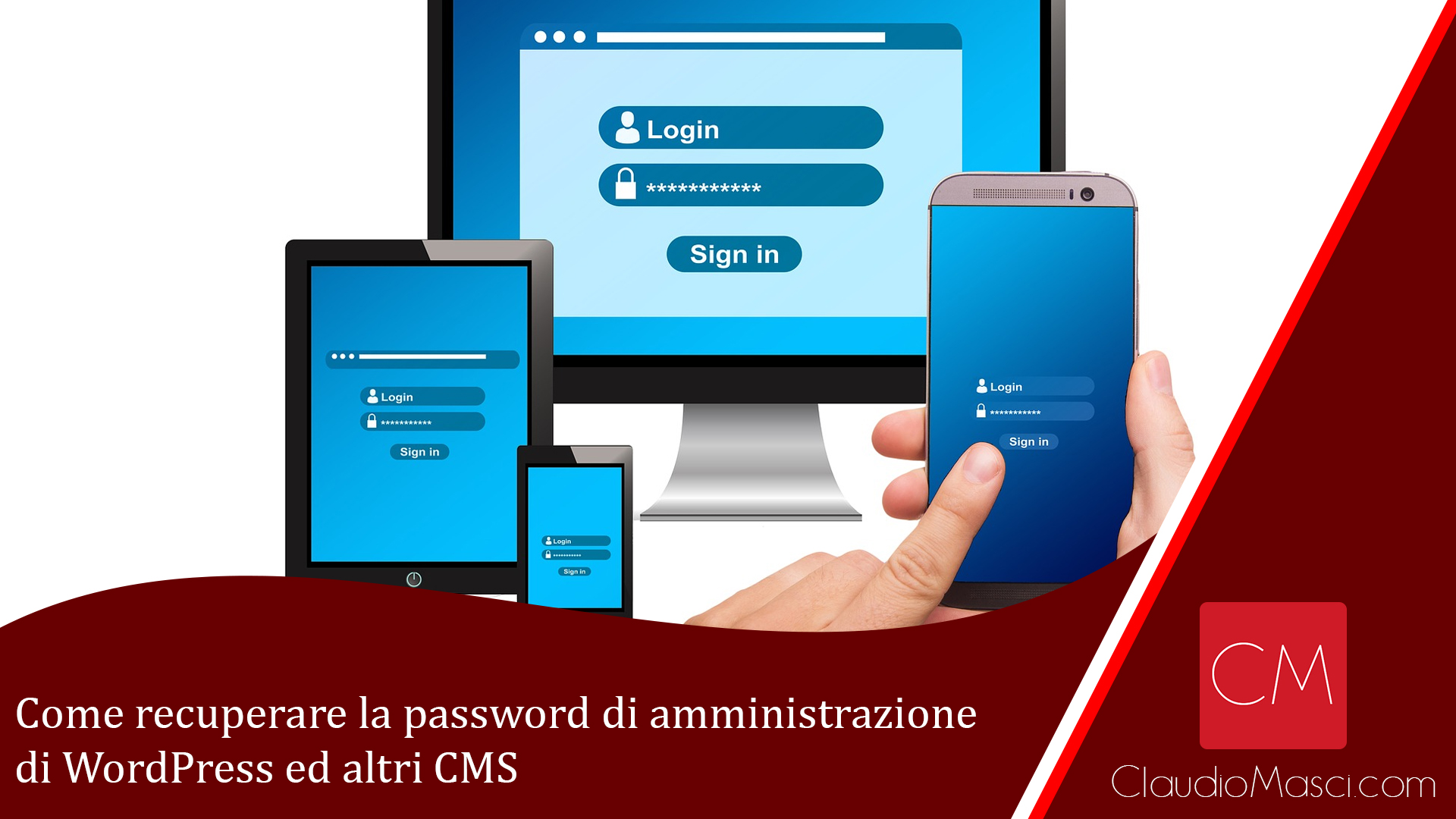 Come recuperare la password di amministrazione di WordPress ed altri CMS