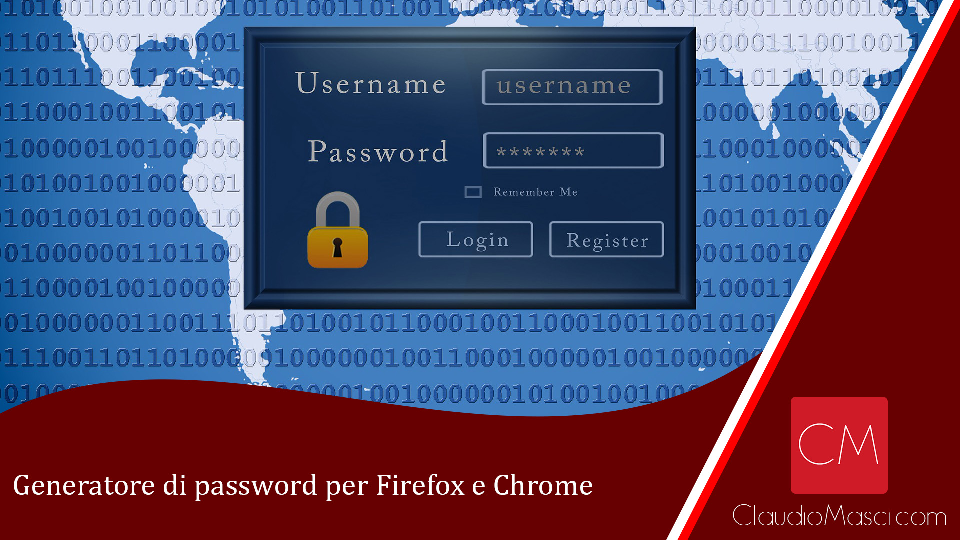 Generatore di password per Mozilla Firefox e Google Chrome