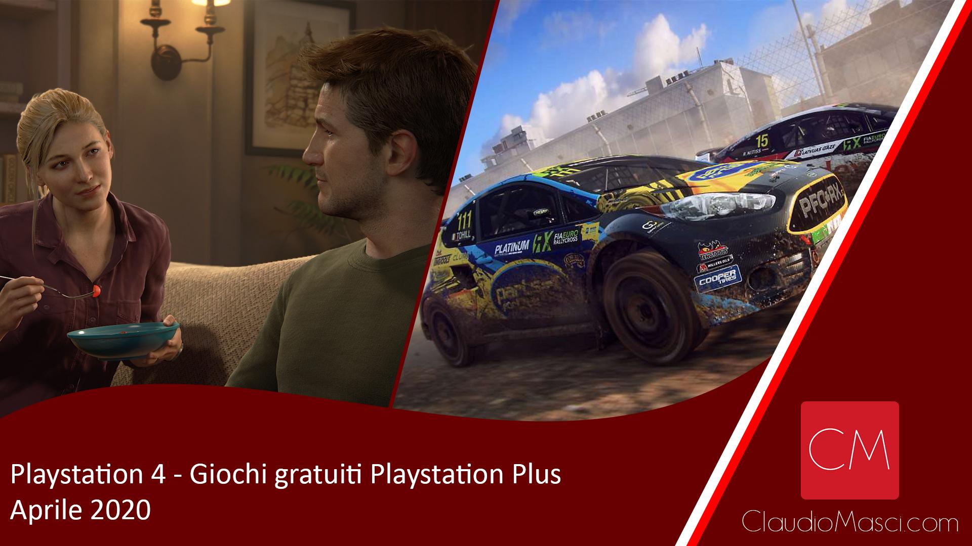 Playstation Plus – Giochi gratuiti PS Plus Aprile 2020