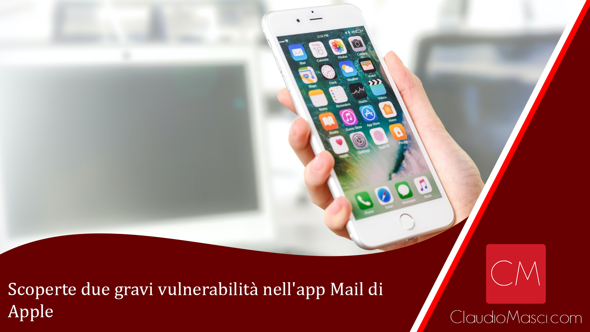 Scoperte due gravi vulnerabilità nell'app Mail di Apple