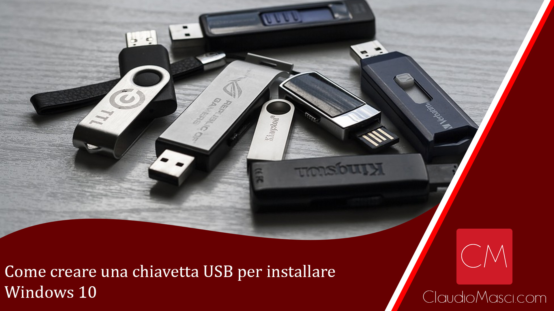 Come creare una chiavetta USB per installare Windows 10