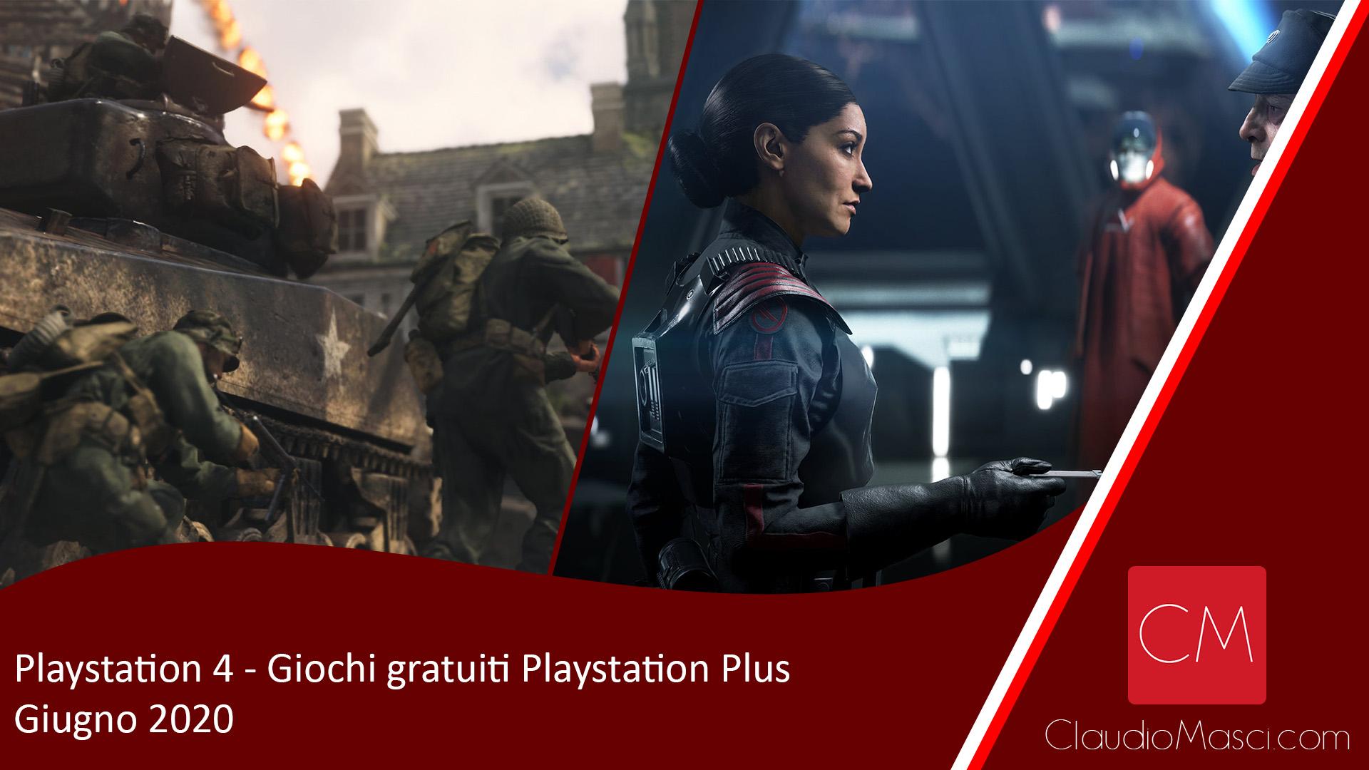 Giochi gratuiti PS Plus Giugno 2020 – Playstation Plus Giugno 2020