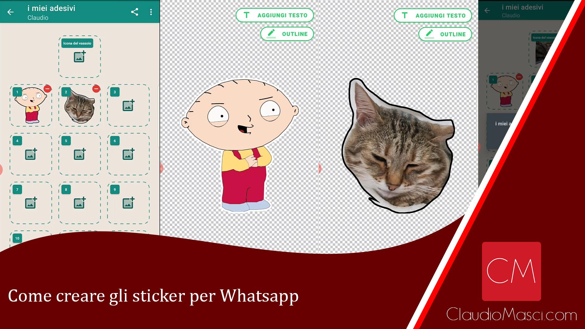 Come creare gli sticker per Whatsapp
