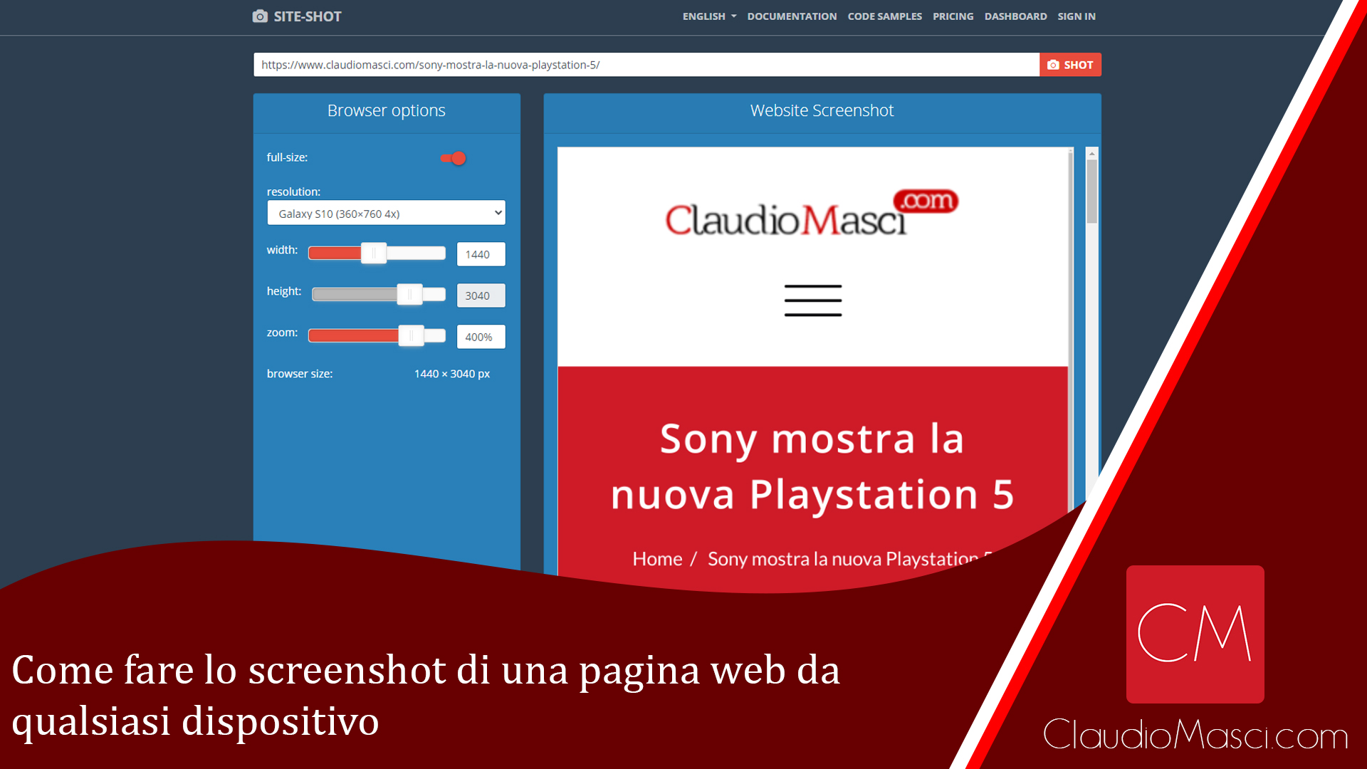 Come fare lo screenshot di una pagina web da qualsiasi dispositivo