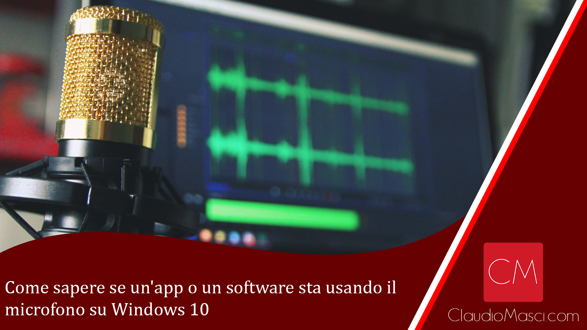 Come sapere se un'app o un software sta usando il microfono su Windows 10