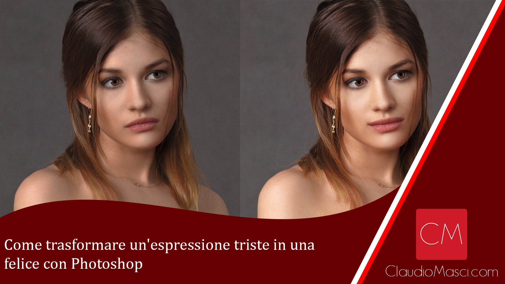 Come trasformare un'espressione triste in una felice con Photoshop