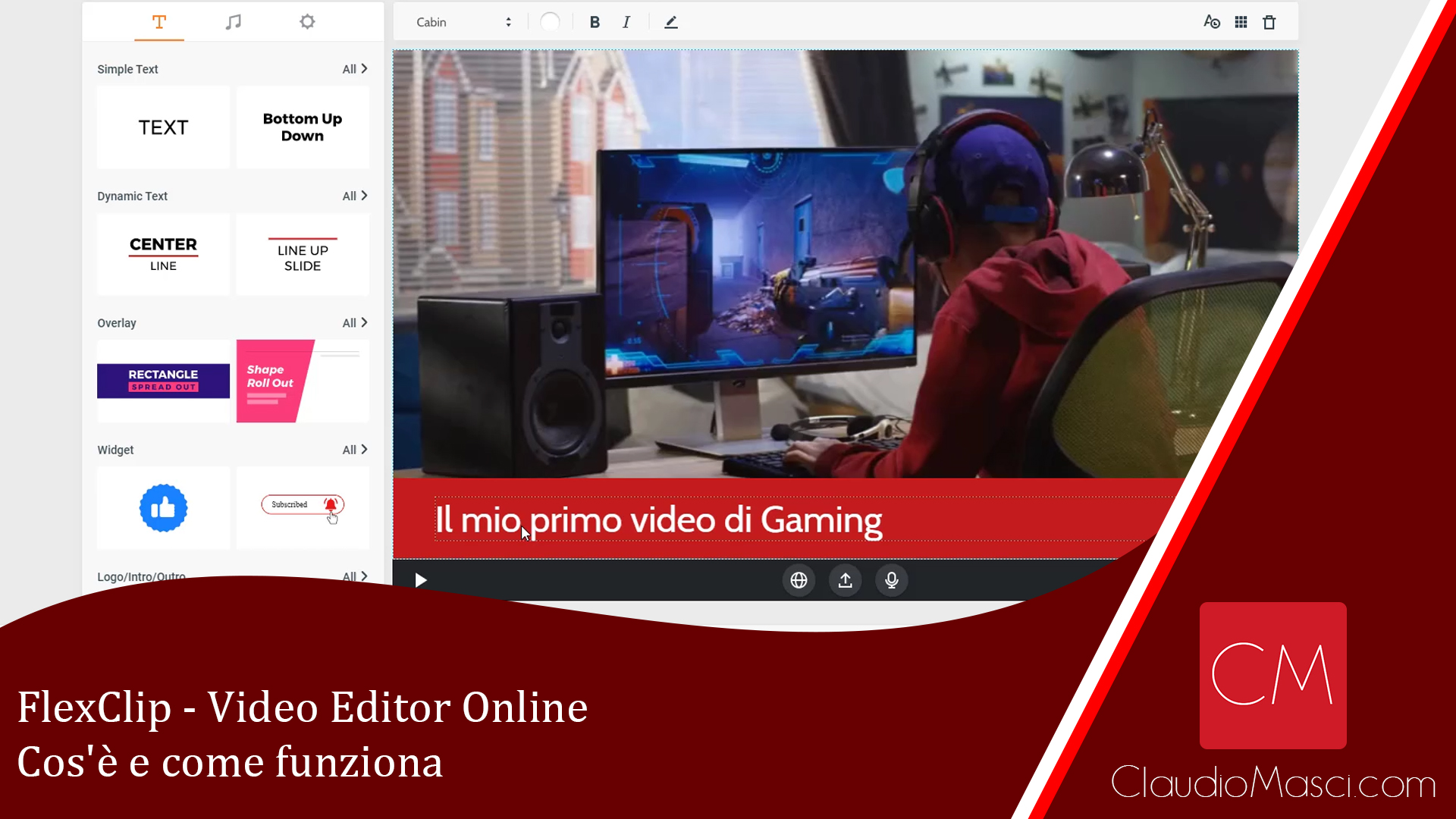 FlexClip – Editor Video Online – Cos'è e come funziona