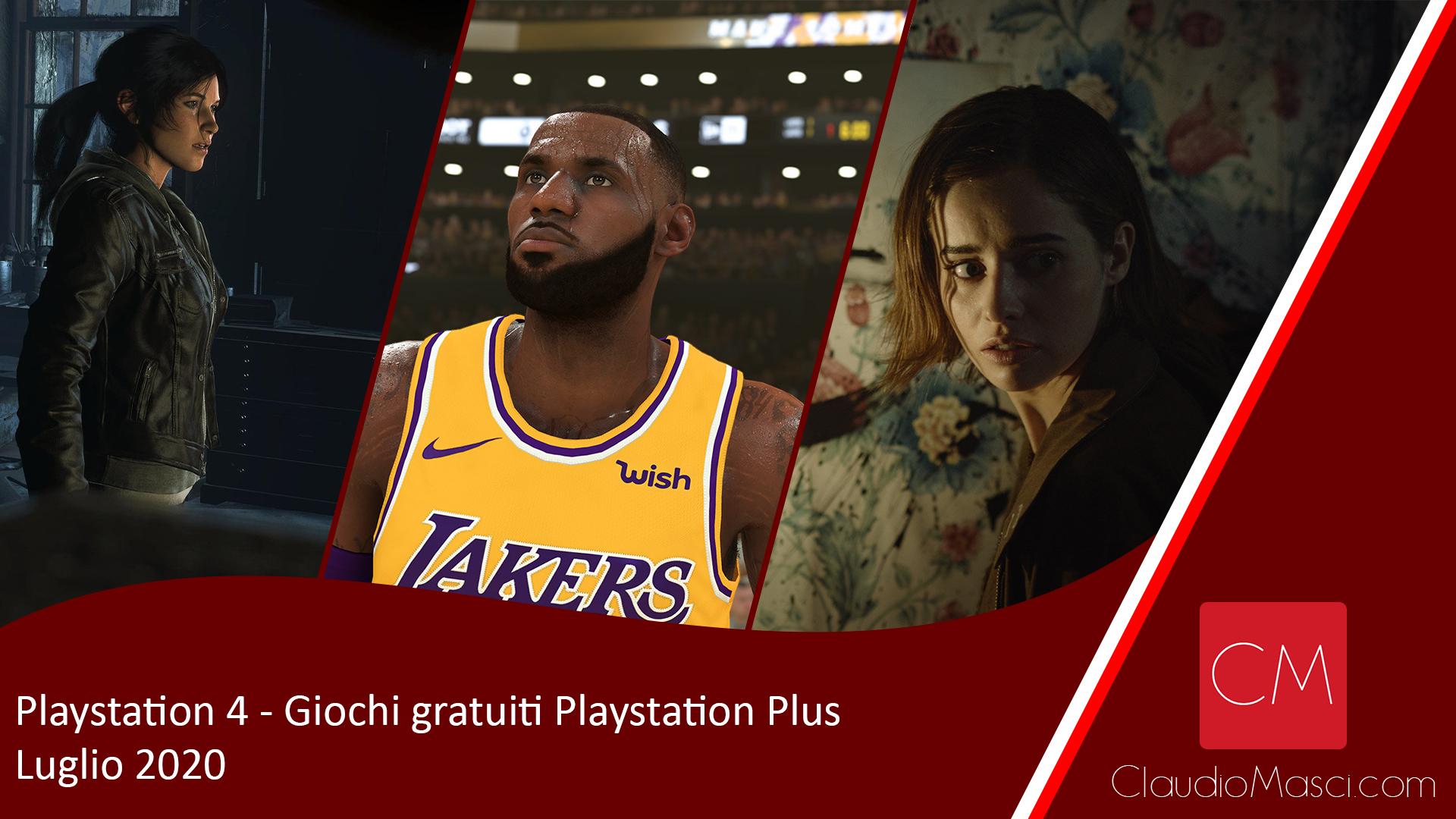 Giochi gratuiti PS Plus Luglio 2020 – Playstation Plus Luglio 2020