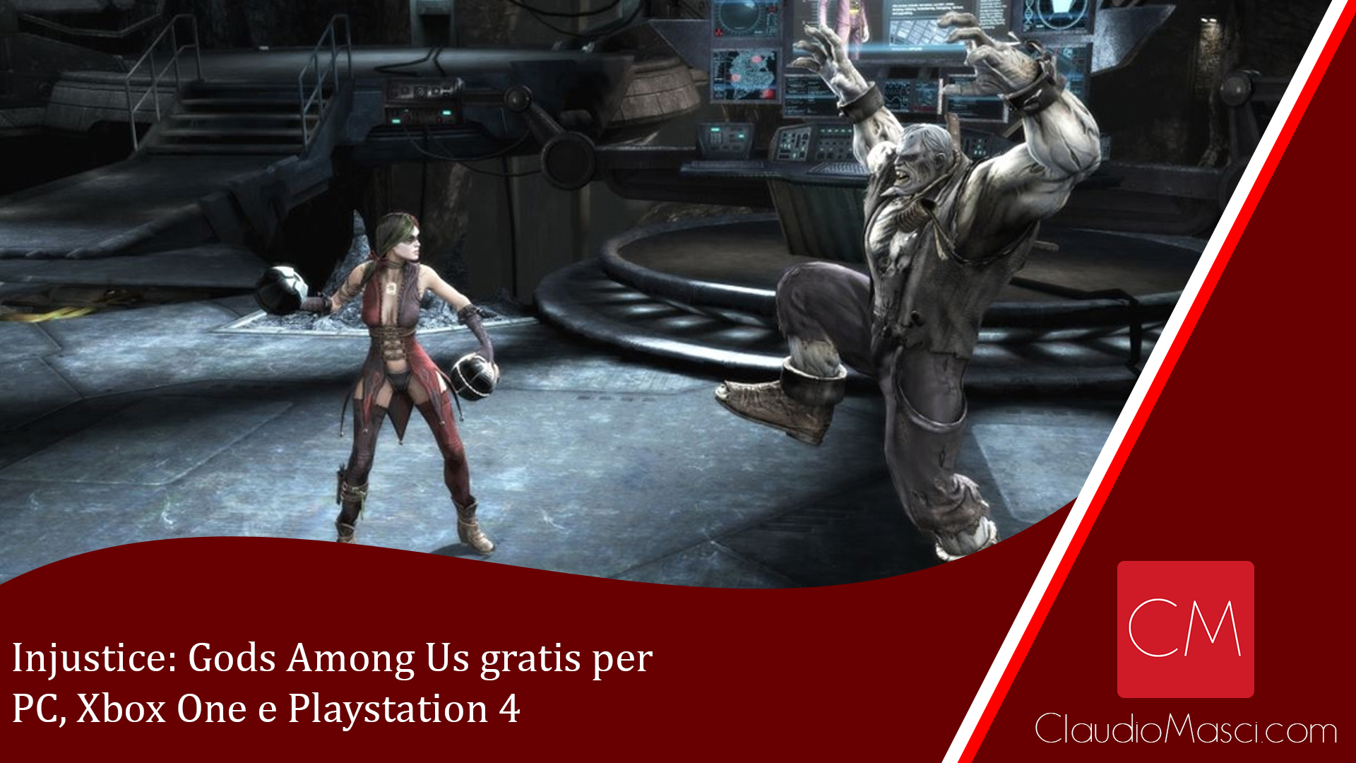 Injustice: Gods Among Us gratis per PC, Xbox One e Playstation 4
