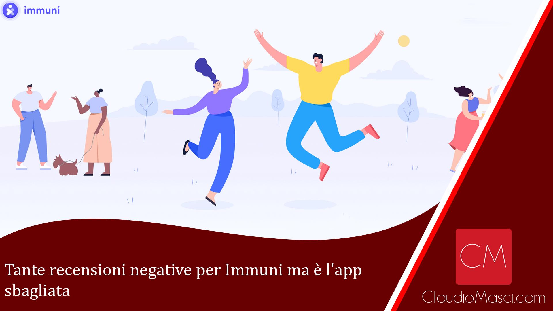 Tante recensioni negative per Immuni ma è l'app sbagliata