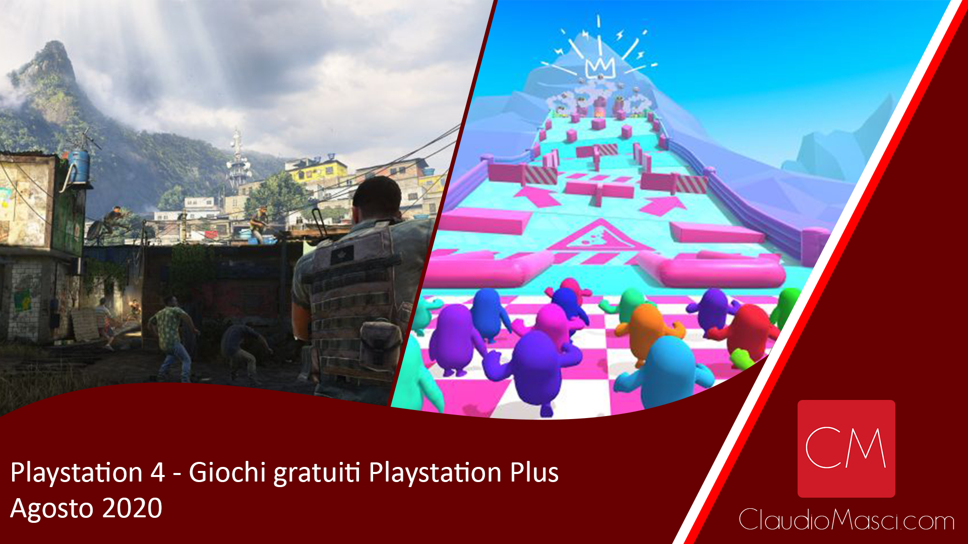 Giochi gratuiti PS Plus Agosto 2020 – Playstation Plus Agosto 2020