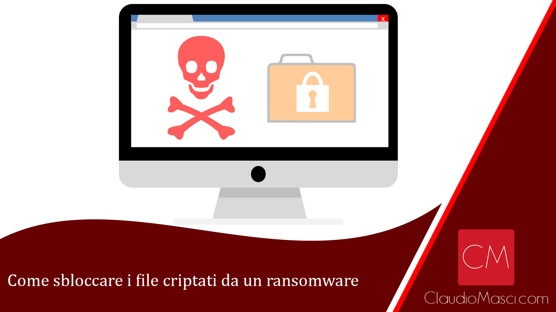 Come sbloccare i file criptati da un ransomware