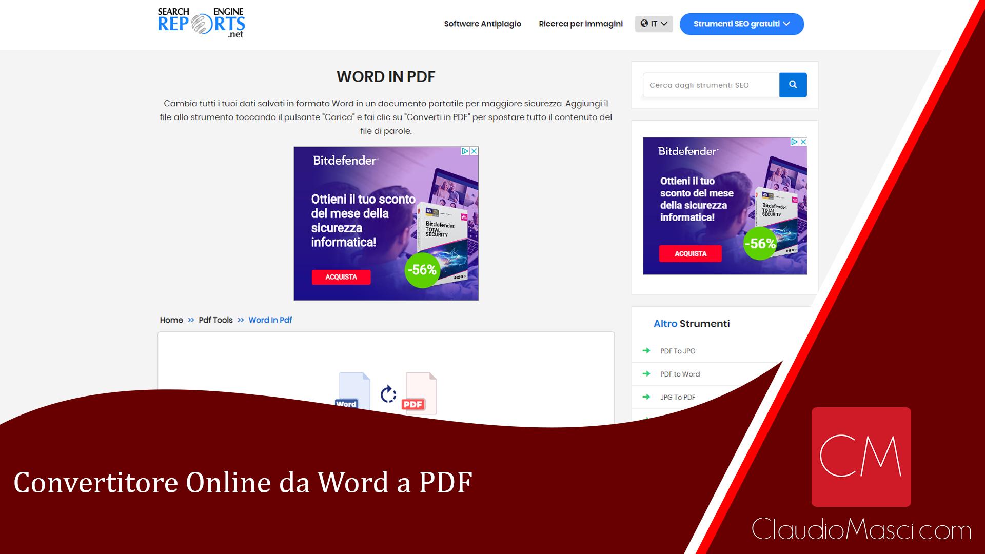 Convertitore Online da Word a PDF