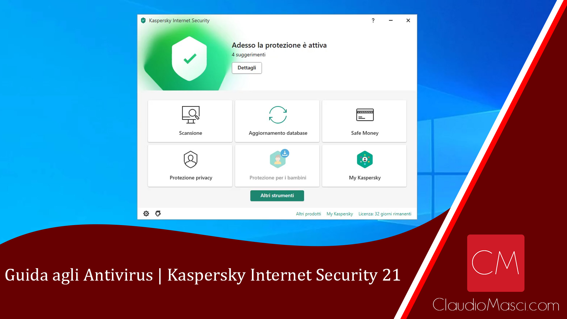 Guida agli Antivirus – Kaspersky Internet Security 21