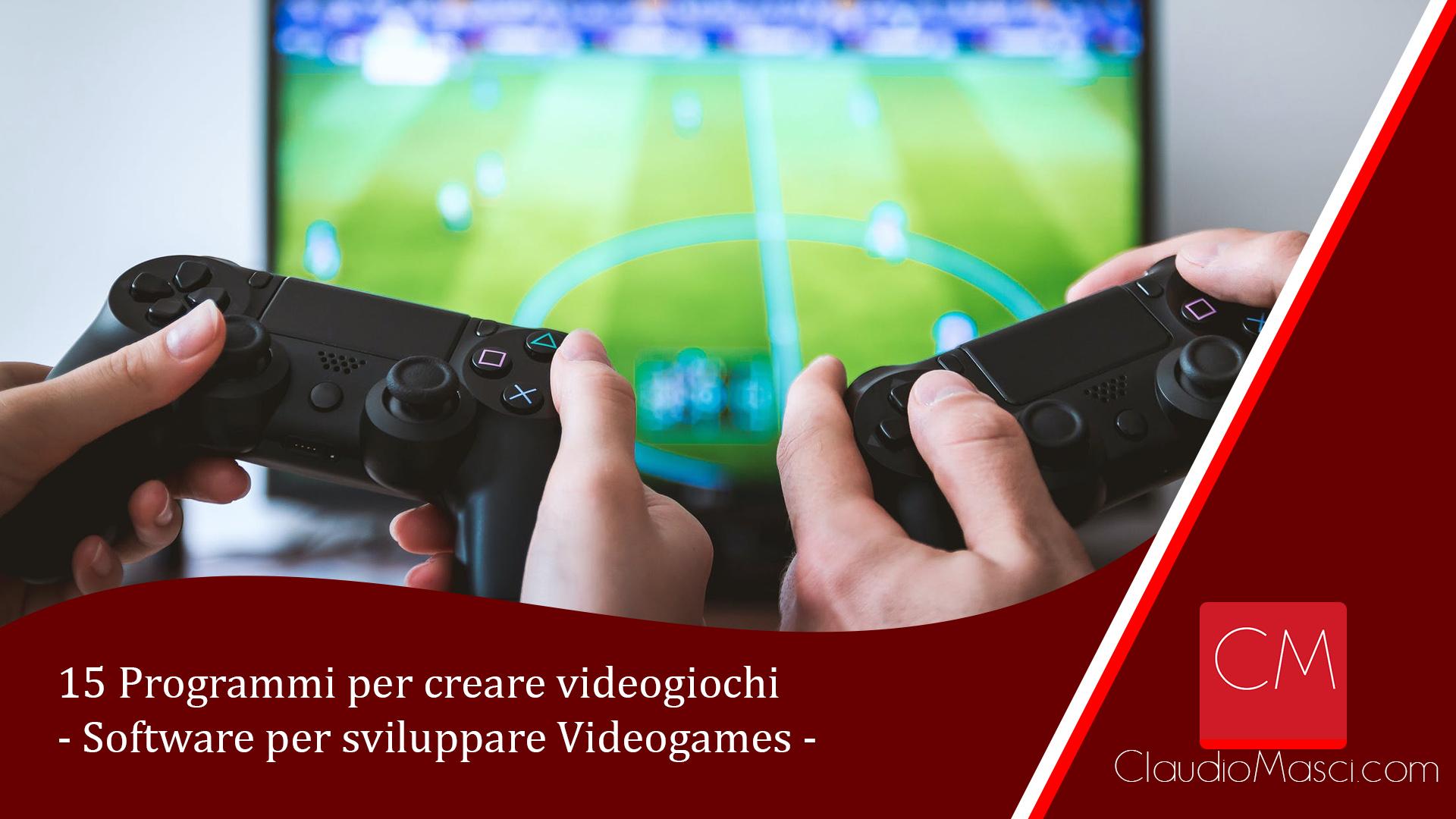 15 Programmi per creare videogiochi – Software per sviluppare Videogames