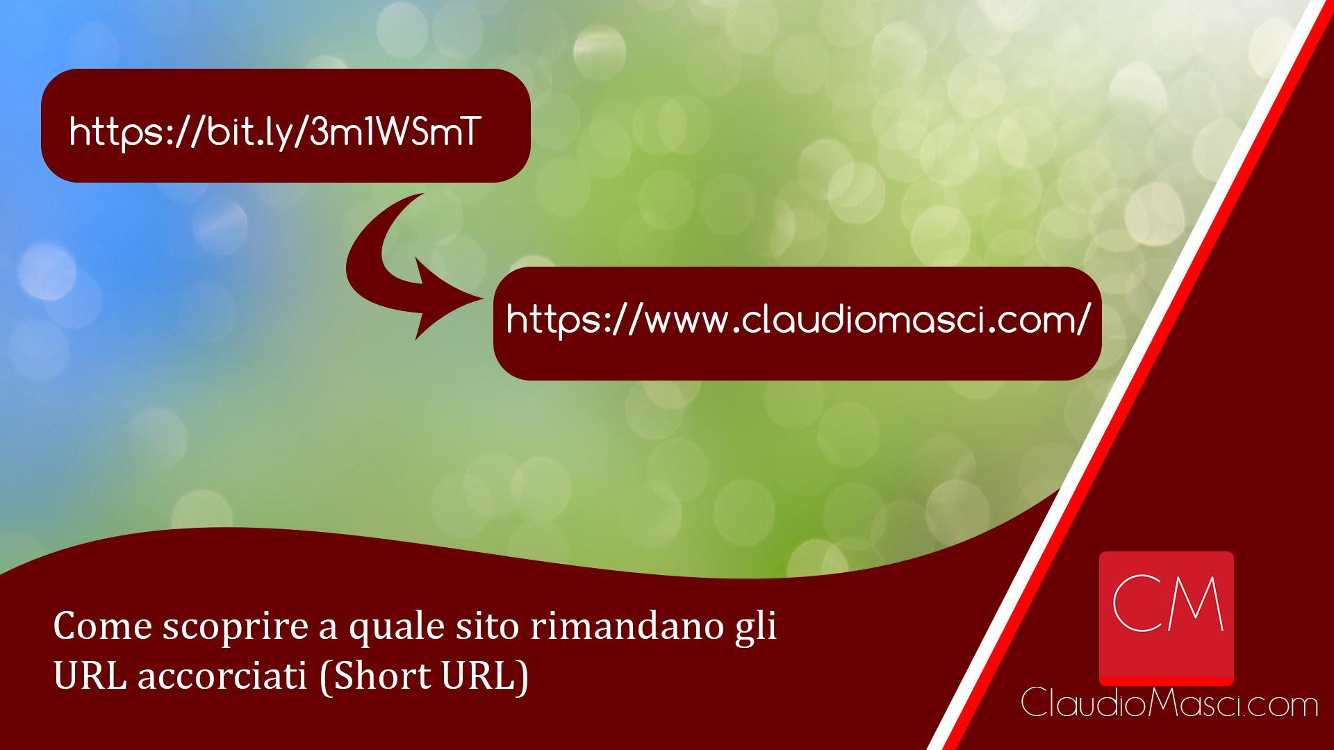 Come scoprire a quale sito rimandano gli URL accorciati