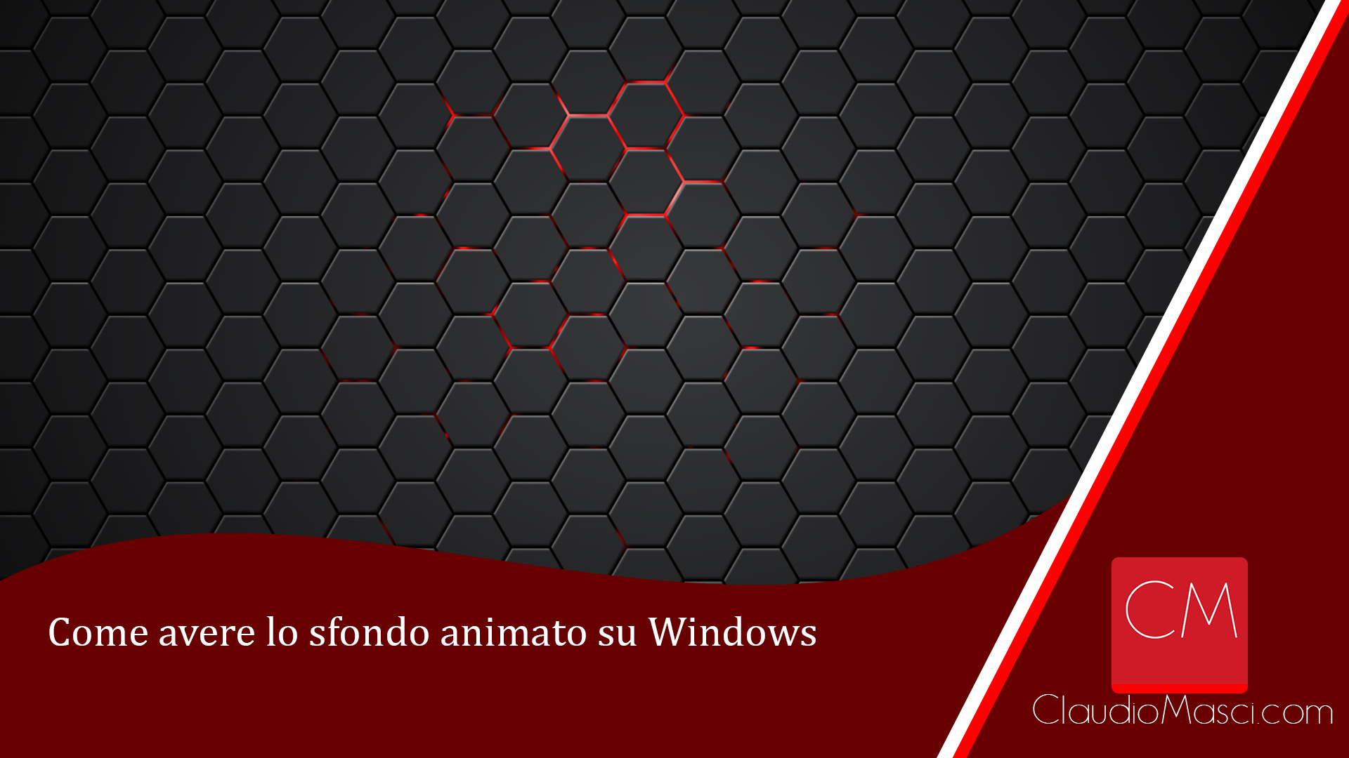 Come avere lo sfondo animato su Windows