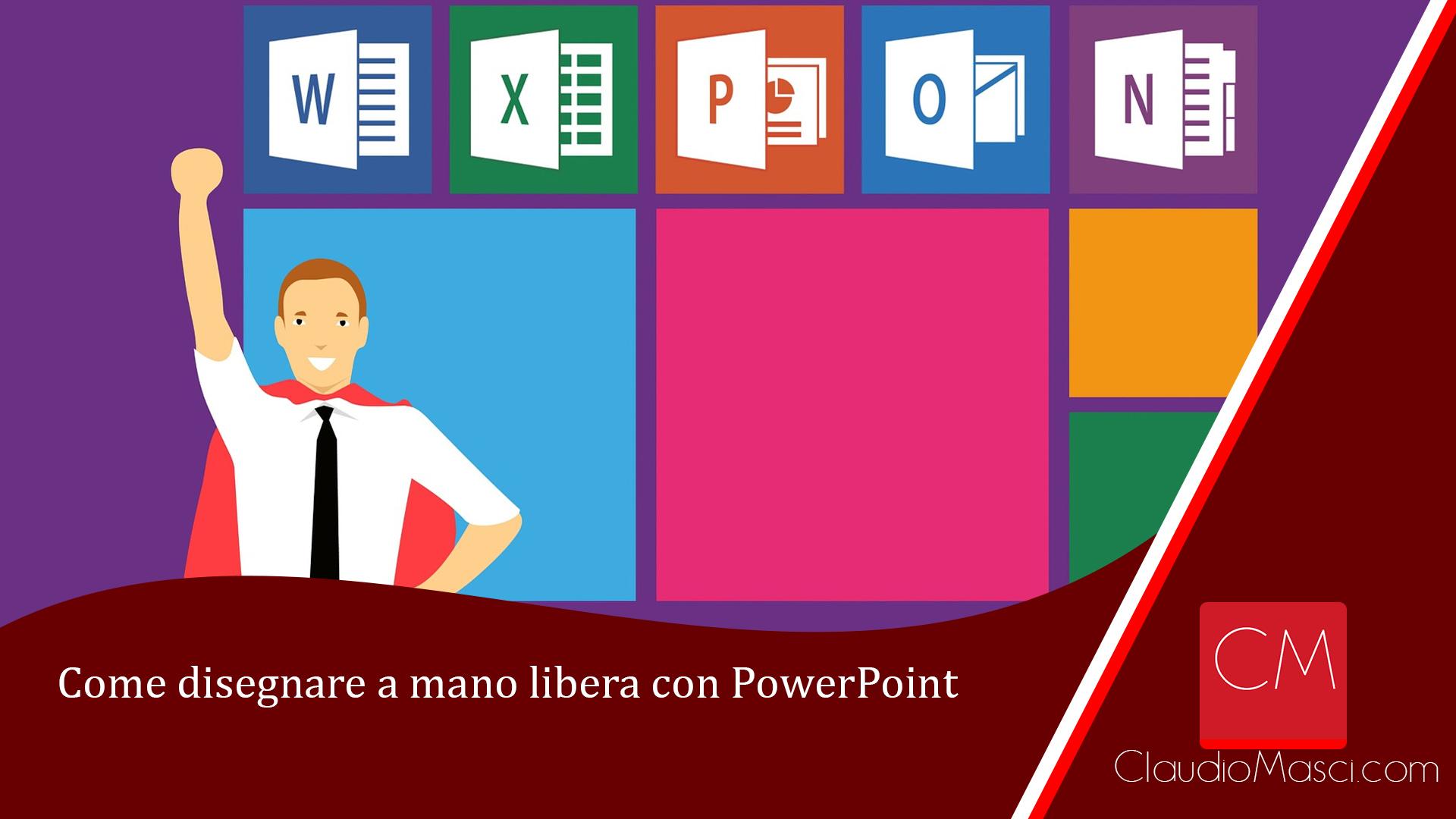 Come disegnare a mano libera con PowerPoint