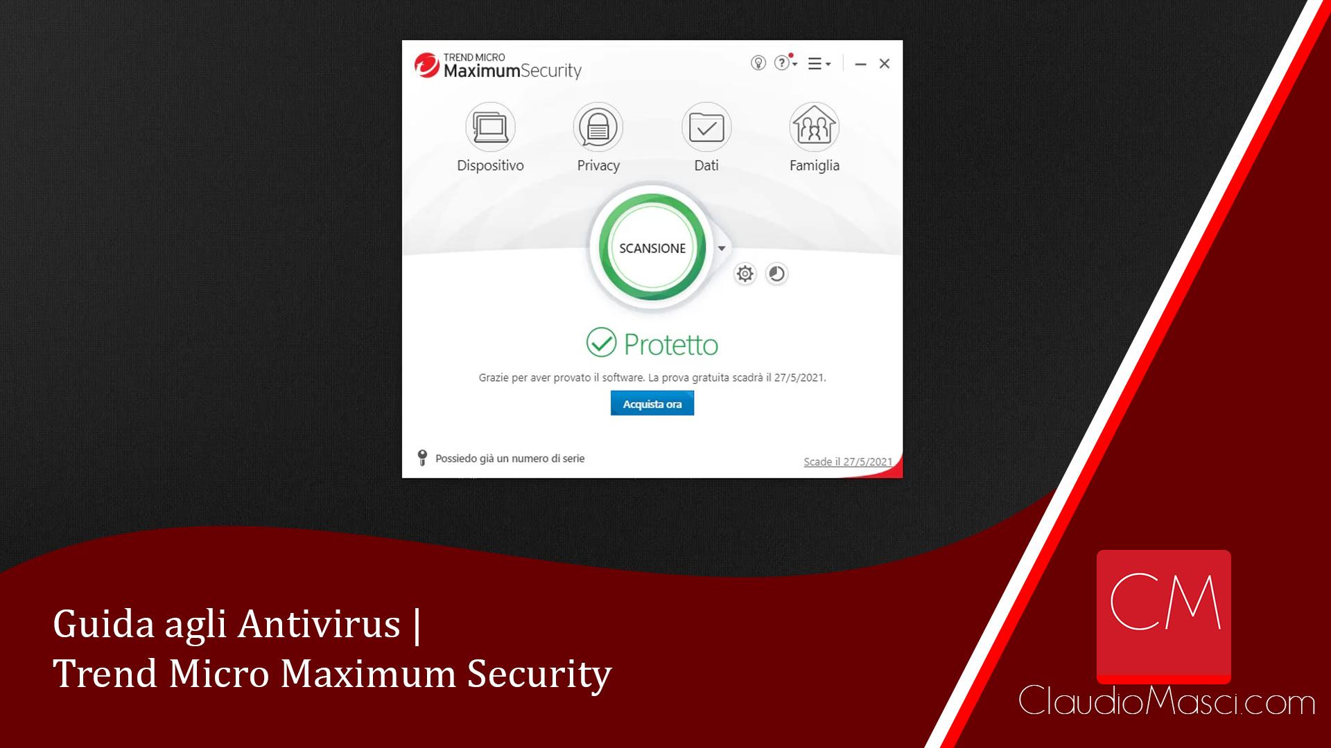 Guida agli Antivirus | Trend Micro Maximum Security