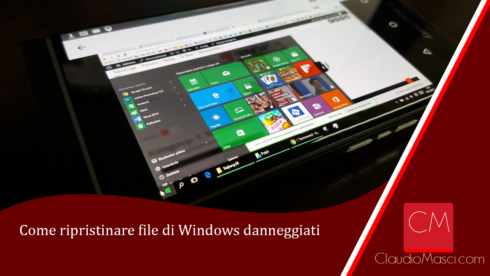 Come ripristinare file di Windows danneggiati