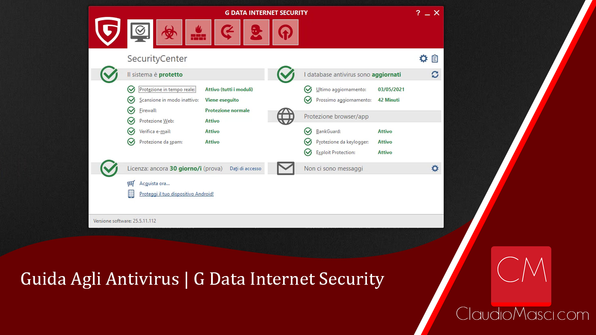 Guida Agli Antivirus - G Data Internet Security
