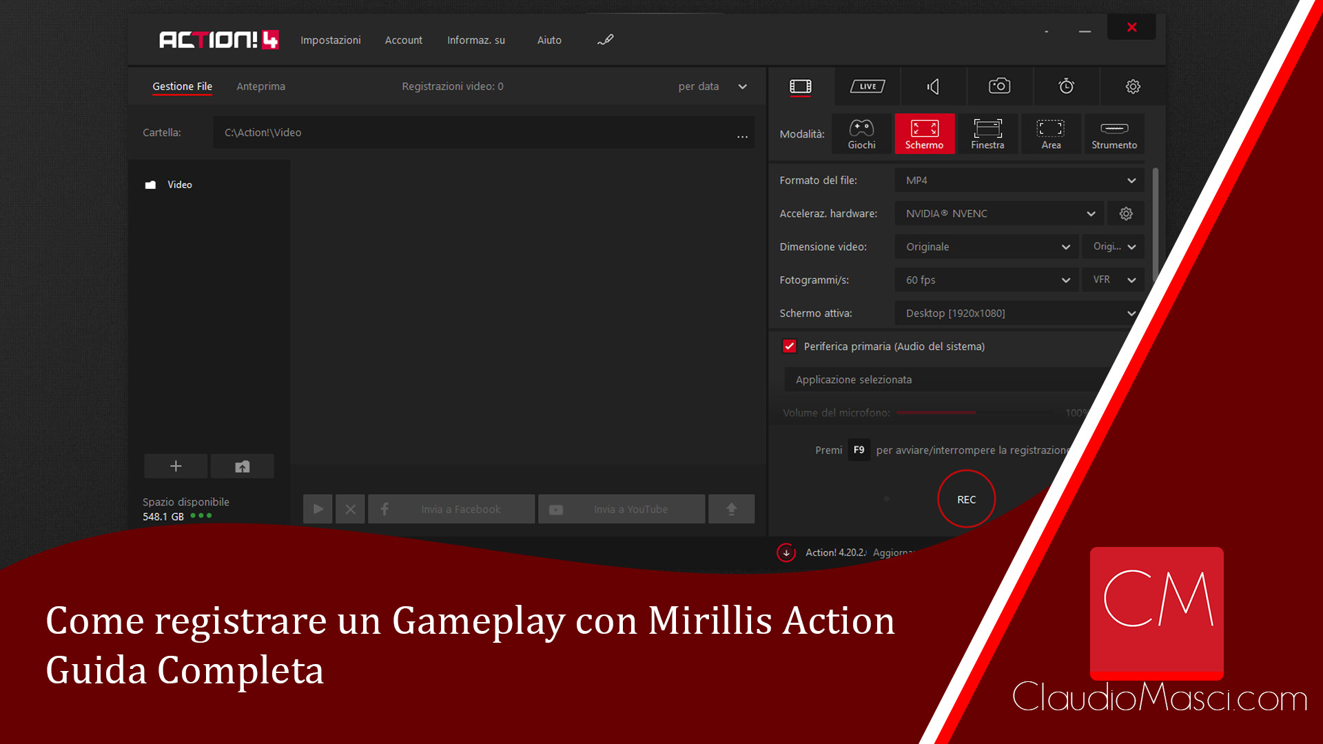 Come registrare un Gameplay con Mirillis Action – Guida Completa