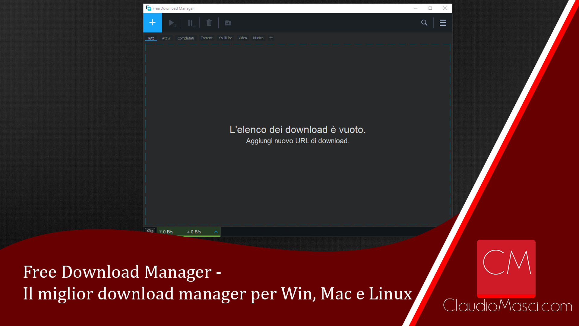 Free Download Manager – Il miglior download manager