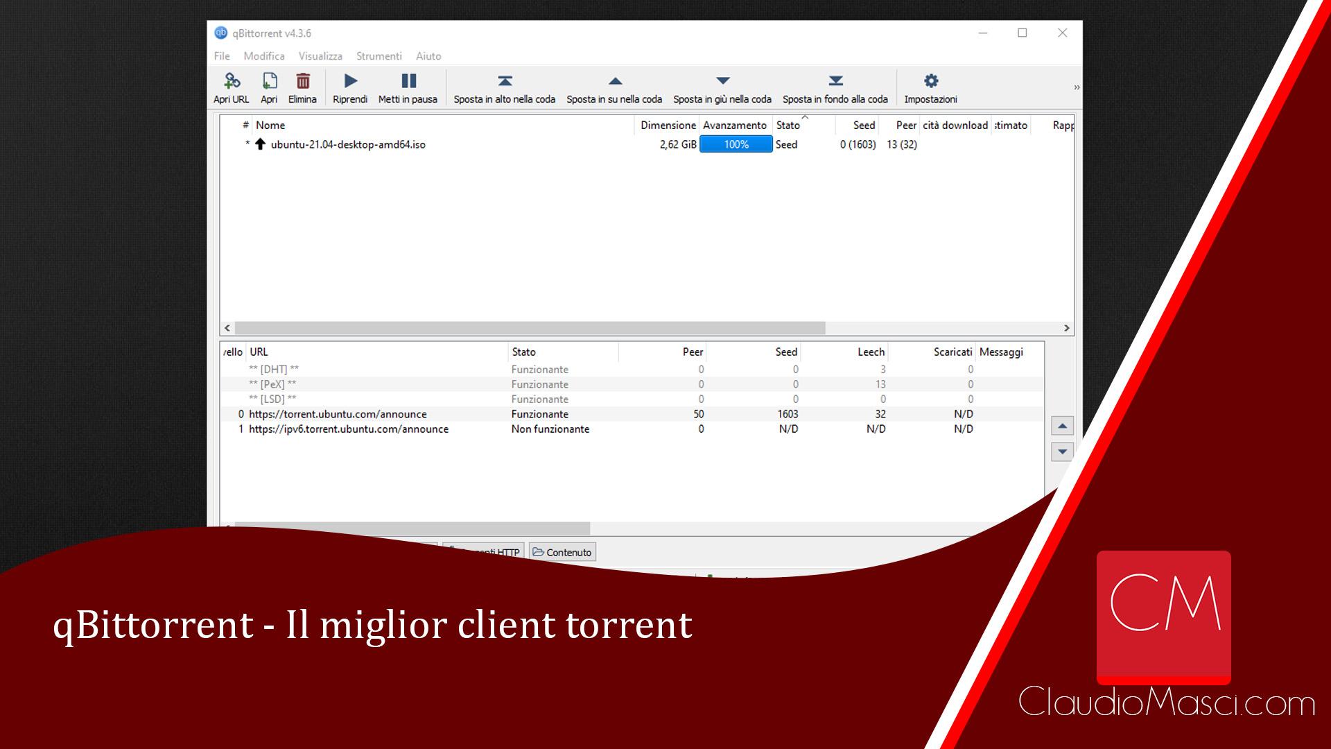 qBittorrent – Il miglior client torrent