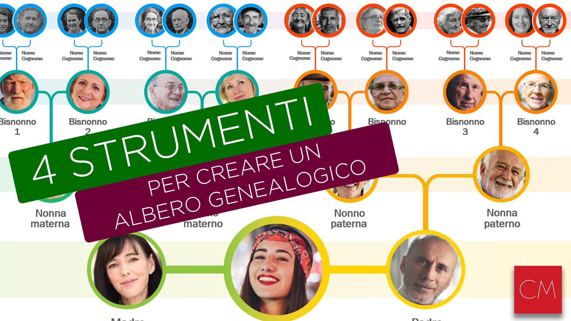 4 Strumenti per creare un albero genealogico