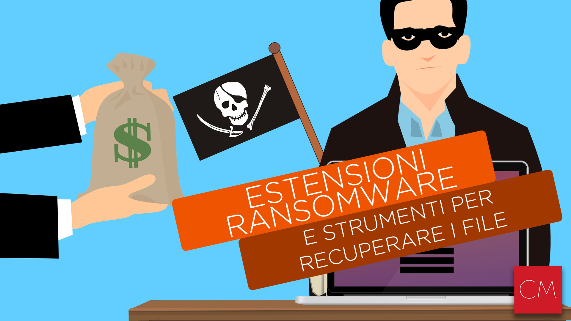 Estensioni Ransomware e strumenti per recuperare i file
